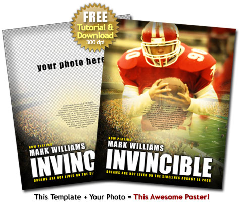 Invincible Poster Football