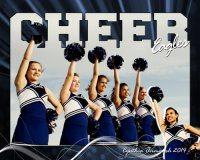 Cheerleader poster photoshop
