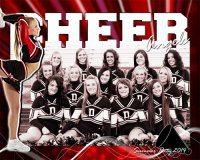 Cheerleading Poster Photoshop