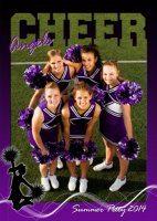 cheerleading team Poster