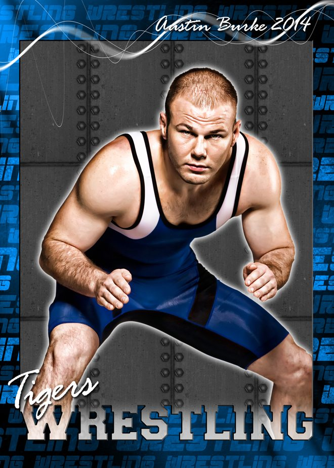 Action Sports Wrestling Cutout Vol 20 Template Photoshop  U0026 Elements