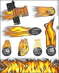 Fire Flames Elements Photoshop