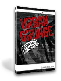 Urban Grunge Template Set