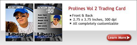 Prolines Vol 1 Trading Card