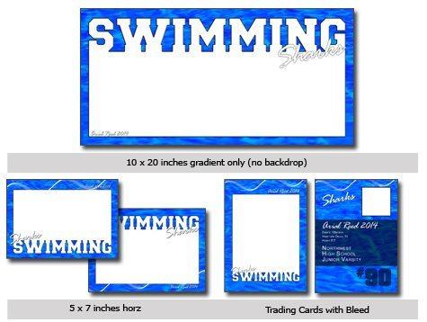 Swim Cutout Template