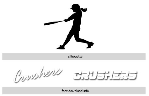 Sports Softball Vol 10 Photoshop and Elements Templates