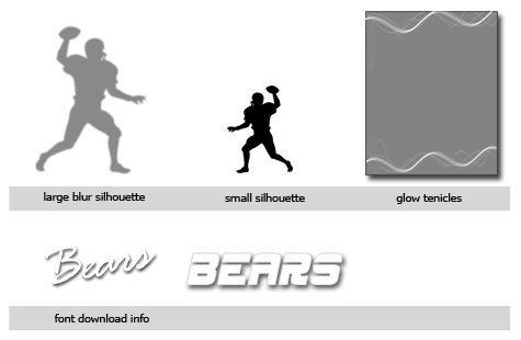 Football Template Photoshop & Elements