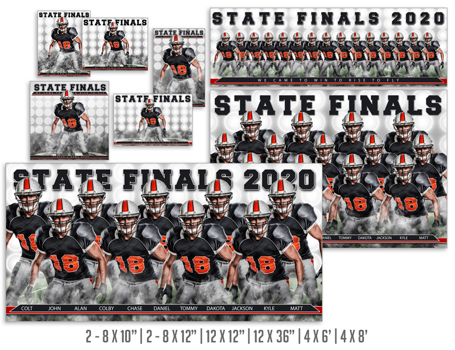 Victory Lights Sports Photoshop Backdrops