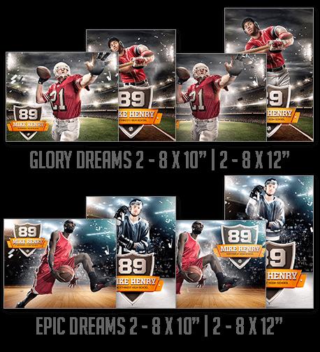 Glory Dreams & Epic Dreams Entire Collection