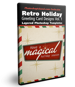 Retro Christmas Cards