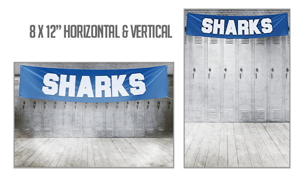 Locker Backdrop 8x10 Inches