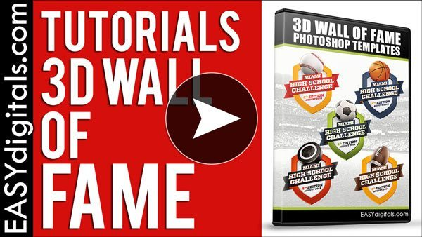 3D Wall Of Fame Tutorials