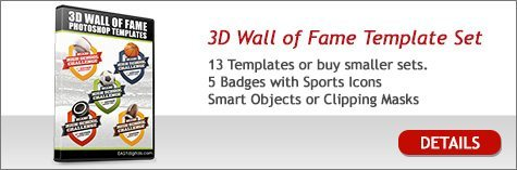 3D Wall of Fame