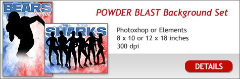 Powder Blast Layered Background