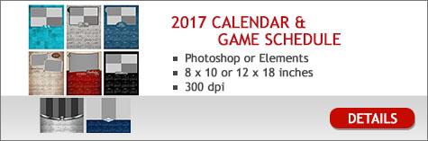 2017 Calendars & Game Schedule